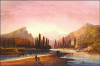 Карло Боссоли. Альминская долина