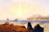 Карло Боссоли. Морской пейзаж