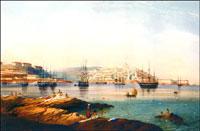 Карло Боссоли. Вид на Севастополь. Южная сторона
