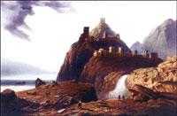 Карло Боссоли. Генуэзская крепость в Судаке