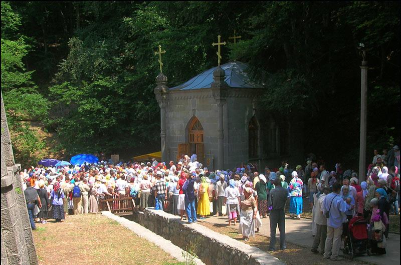 Поломничество в Козьмо-Демьяновском монастыре 14.07.07