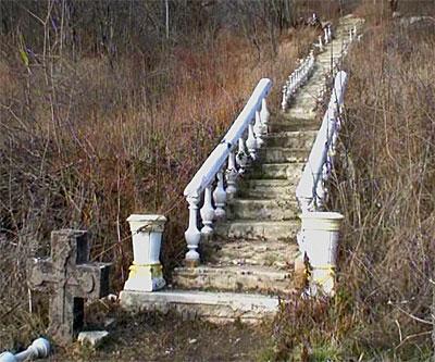 Лестница к источнику