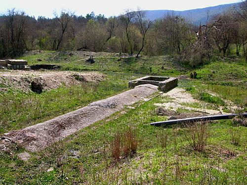 Резервуар Обручевского источника