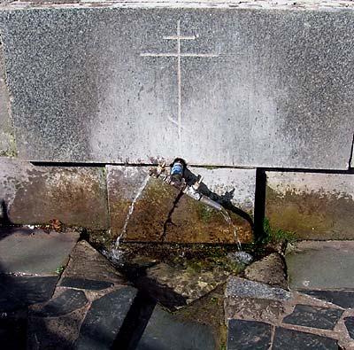 Источник в Успенском монастыре