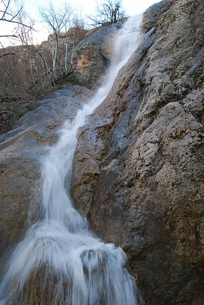 Водопад на речке Су-Аханде