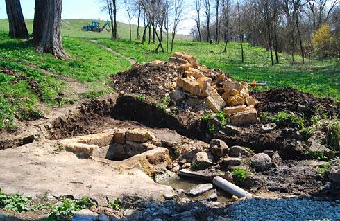 Реконструкция родника Святого Георгия в селе Клиновке