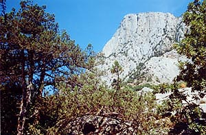 Скалы Куш-Каи